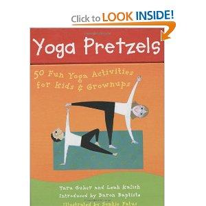 Yoga pretzel